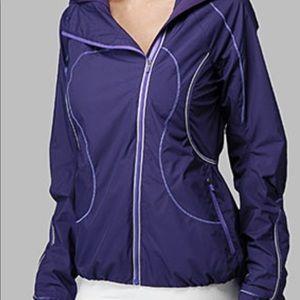 Lululemon Run Inspire Jacket Sz 4 Purple